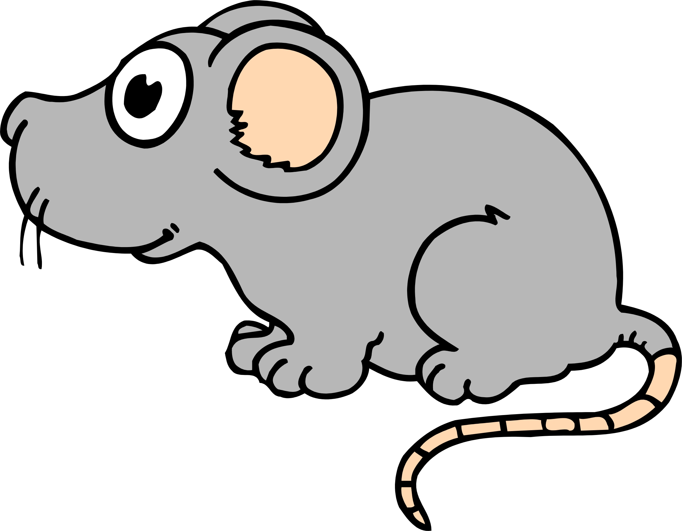 2295x1786 Rat clipart mouse cartoon