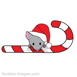 300x300 Christmas Mouse And Cheese Clipart