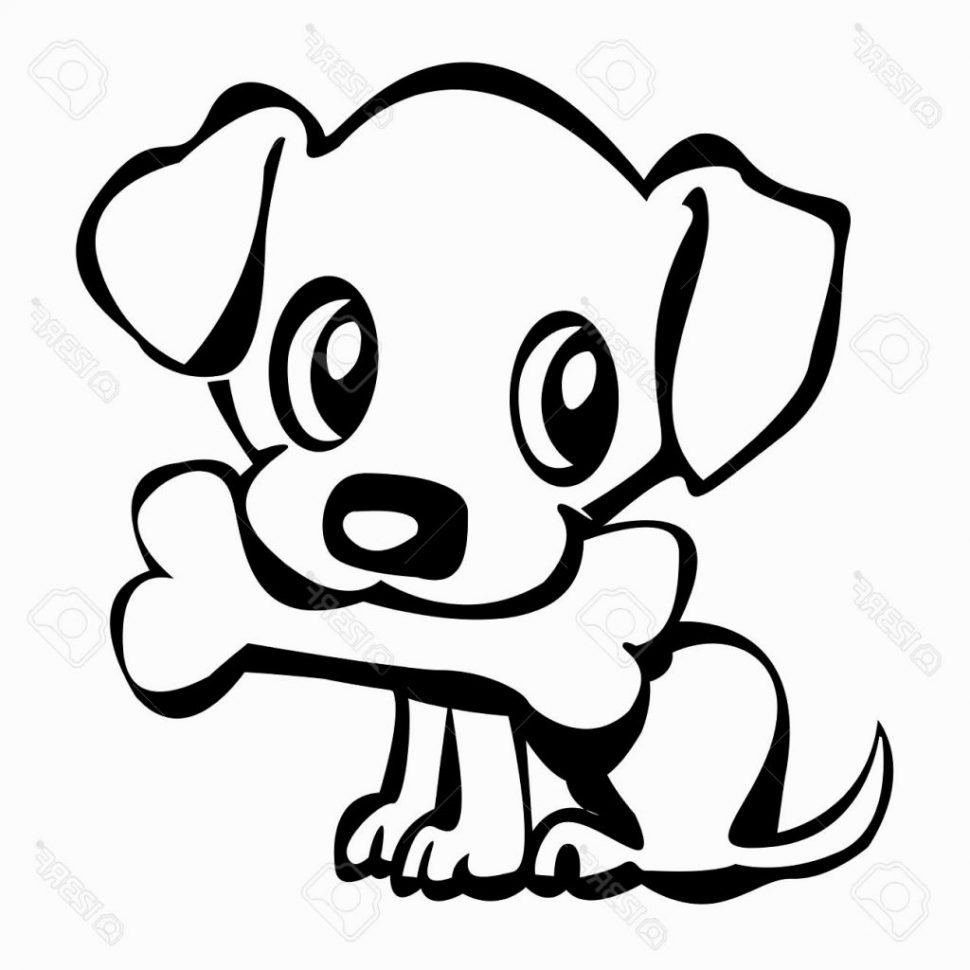 970x970 Coloring Pages Mesmerizing Puppy Drawing Cartoon Puppy10