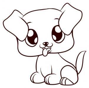 302x299 Best Puppy Drawings Ideas Puppy Drawing, Cute