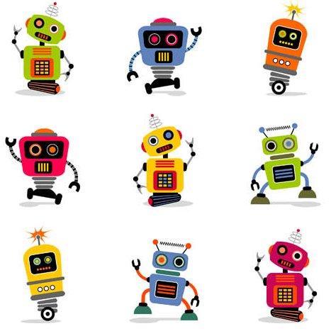 467x474 Deluxe Robo Cartoon Cool Cartoon Robots Cartoon Robot Stock Photo