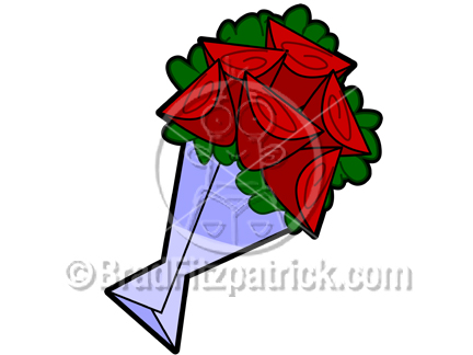 432x324 Cartoon Roses Clipart Picture Royalty Free Roses Clip Art Licensing.
