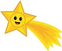 217x177 Shooting Stars Clipart