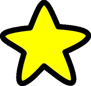 300x285 Star Soft Edges Clip Art