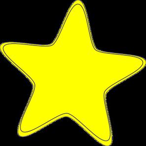 297x298 Yellow Star 2 Clip Art