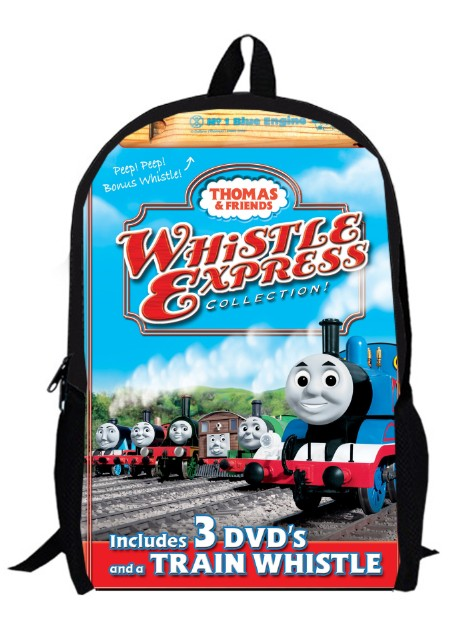 462x626 13inch Little Trains Backpack 2 Children Primary School Train Kids
