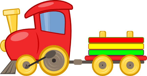 600x309 Cartoon Train Clip Art