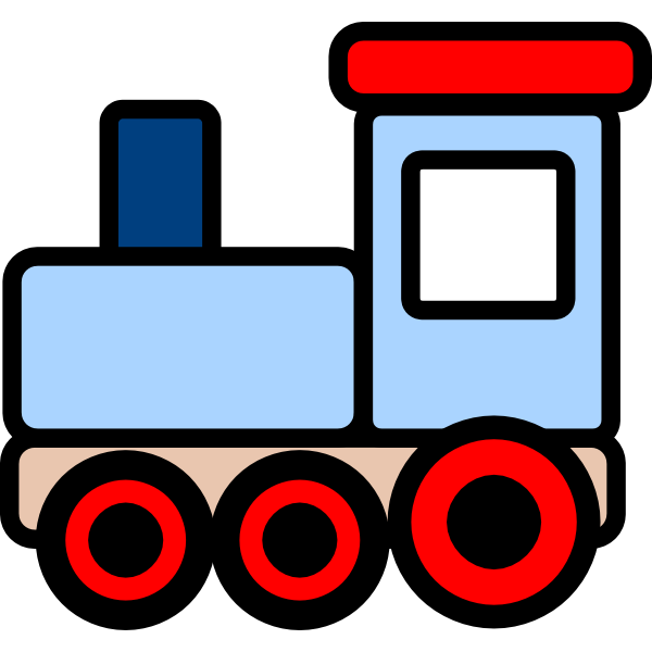 600x600 Graphics For Train Cartoon Graphics