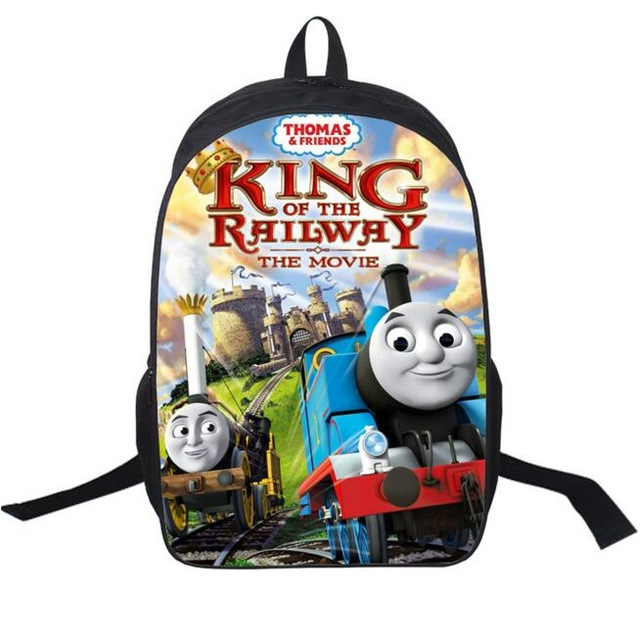 640x636 2016 Little Trains Backpack Double Layer Custom Made Children