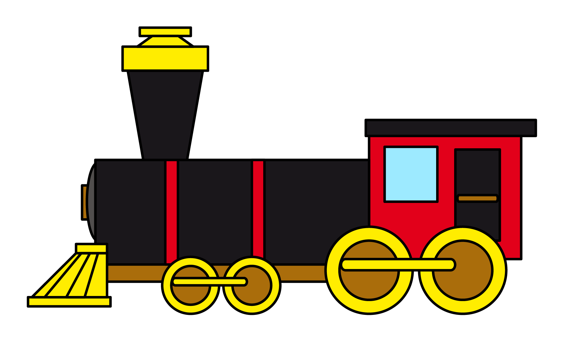 1879x1126 Railways Clipart Cartoon