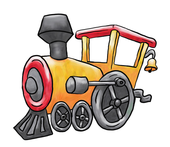 554x481 Railways Clipart Train Cartoon