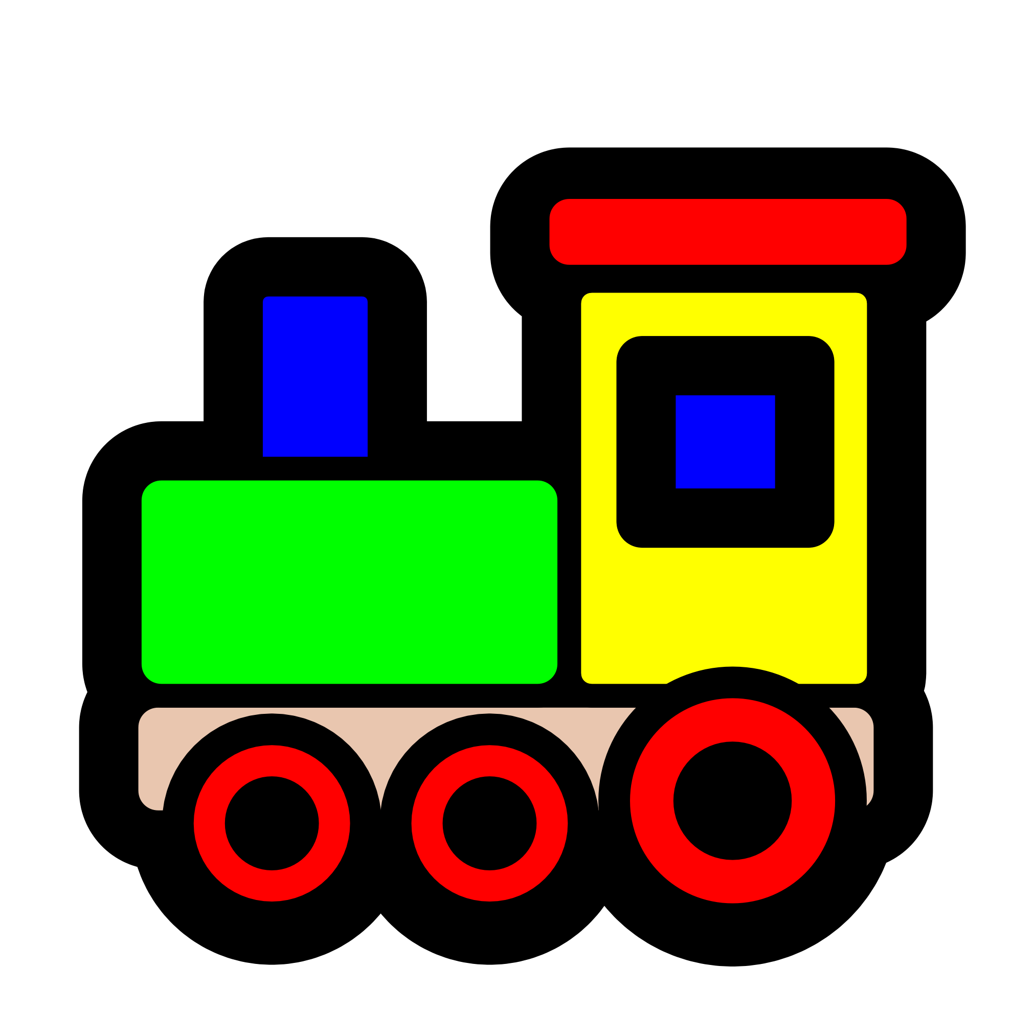 1979x1979 Train Cartoon Clip Art Clipart Panda