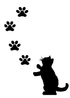 239x331 Cat Paw Print Images