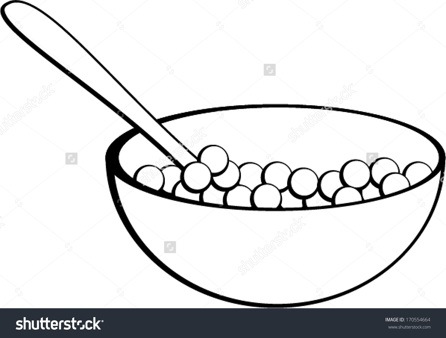 1500x1136 Bowl Clipart Cereal Bowl
