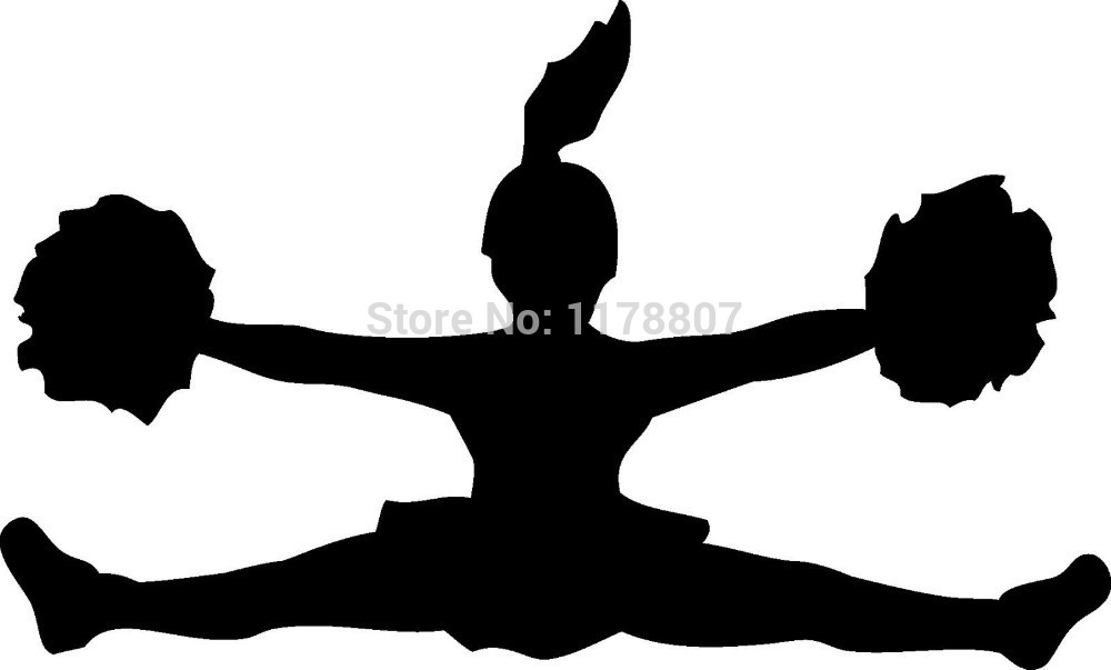 1000x603 Cheerleading Clipart Toe Touch