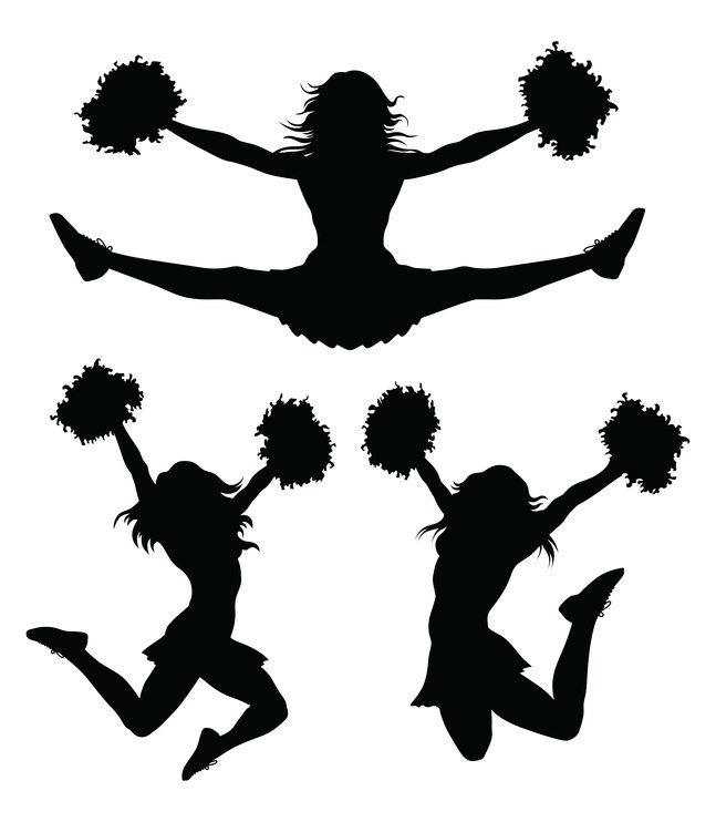 647x742 Kentucky Cheerleading Clipart