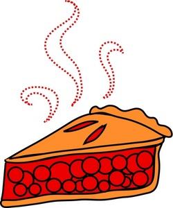 250x300 Pie Clipart Image Cherry Pie Slice Image
