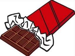 254x190 Candy Clipart Chocolate Bar