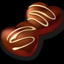 256x256 Chocolate Candy Clip Art