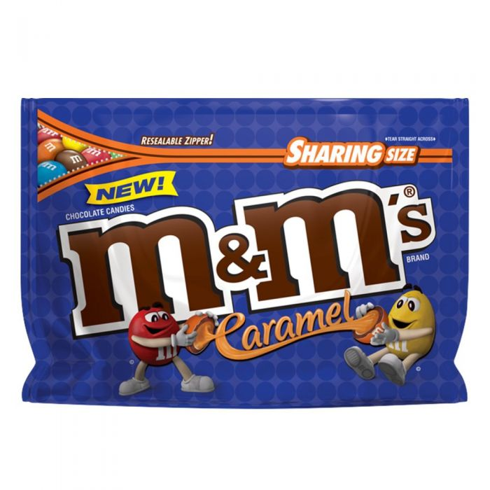 700x700 Mampm's Caramel Chocolate Candy Sharing Size 9.6 Ounce Bag (Pack Of 8)