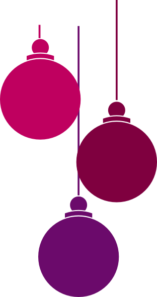 312x591 Christmas Ornaments Clip Art