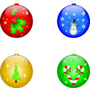 300x291 Free Free Ornaments Clip Art Image 0515 1012 0219 3425 Christmas