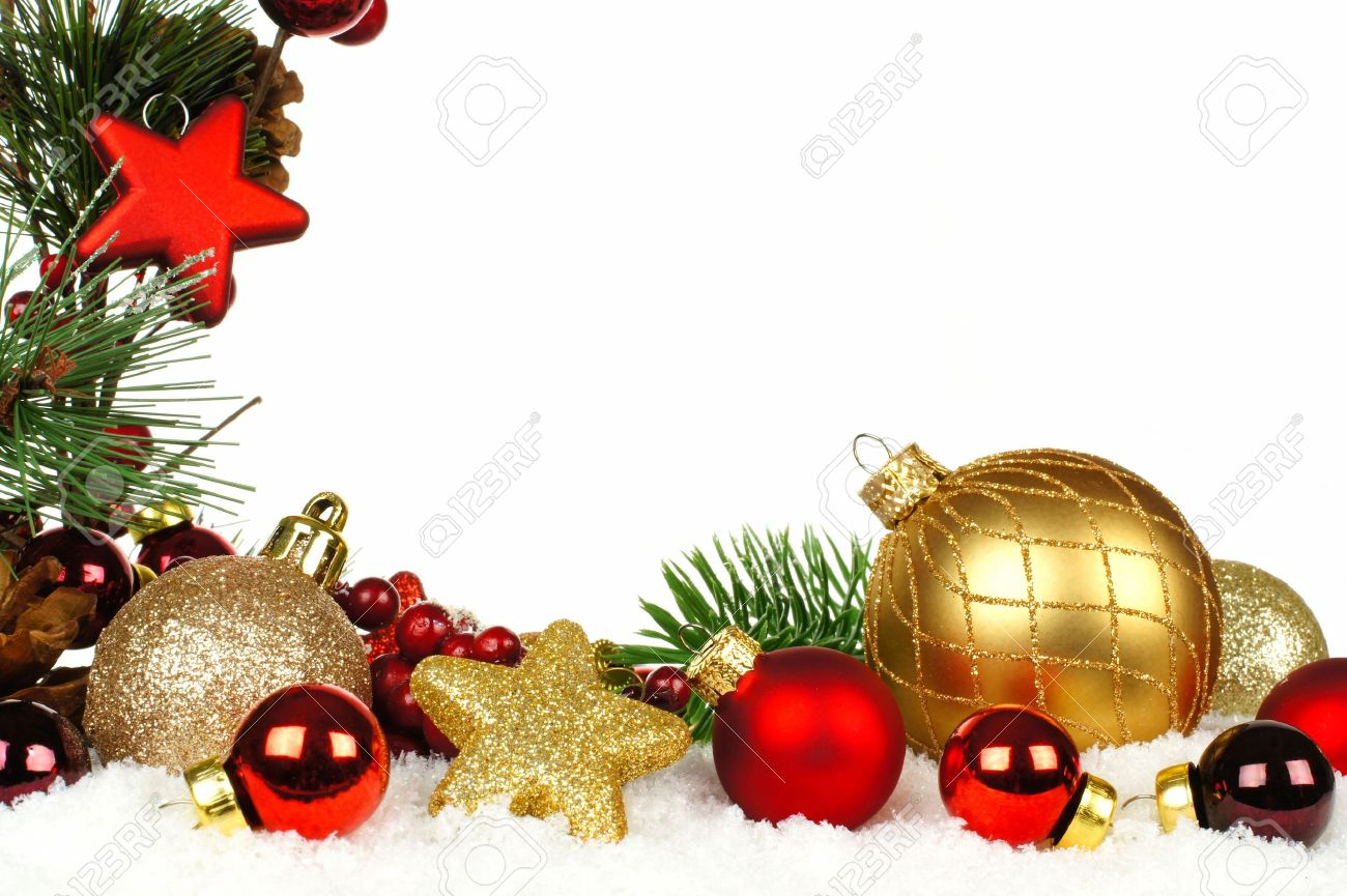 1300x865 Pictures of christmas ornaments borders Christmas pictures
