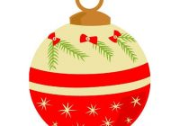 200x140 christmas ornaments clipart xmas decoration pencil and in color