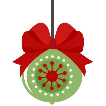 432x432 clipart pictures of christmas ornaments