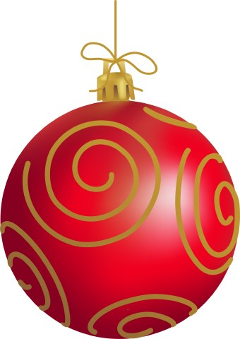 340x480 Christmas Ornaments Picture