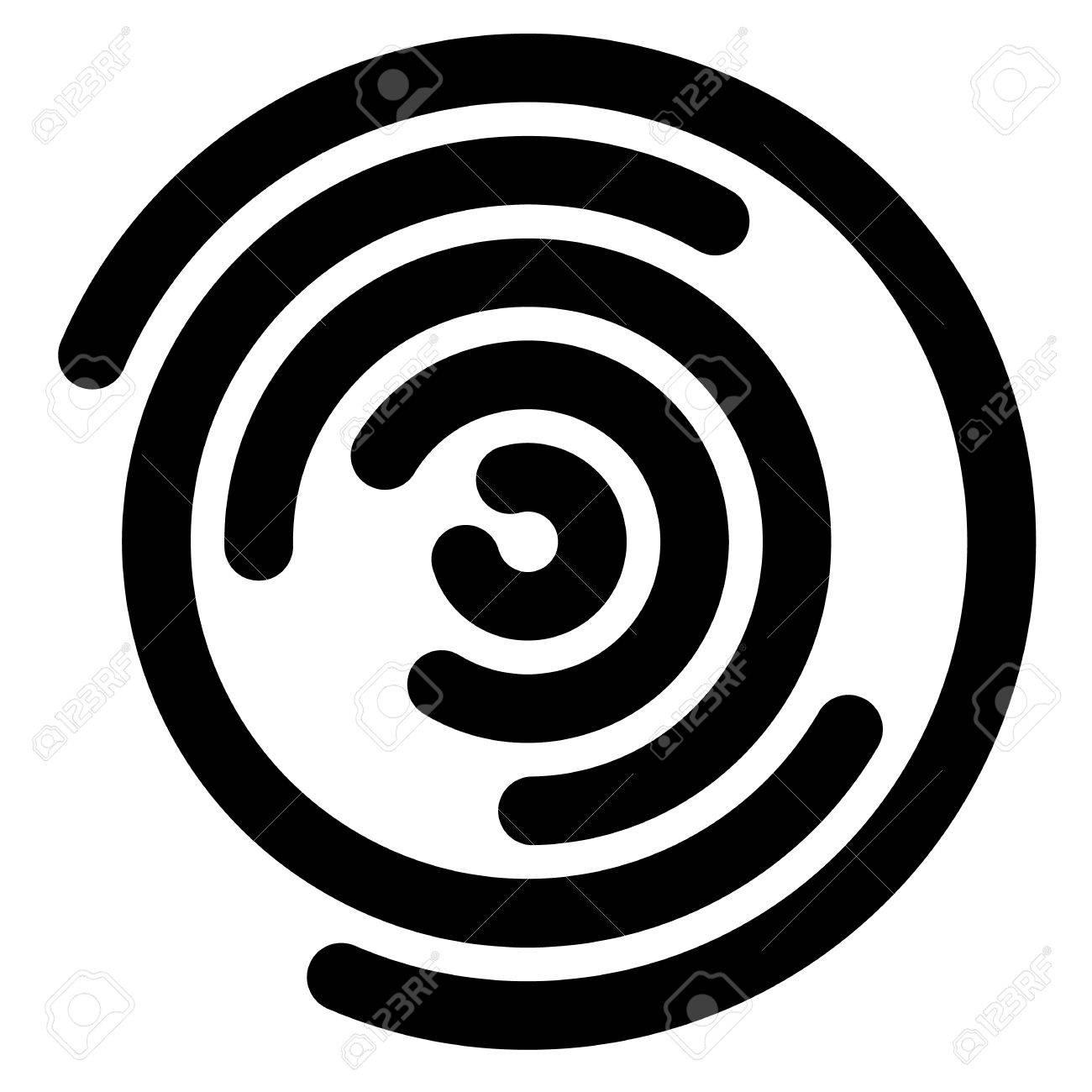 1300x1300 Concentric Segments Of Circles, Random Lines Following A Circle