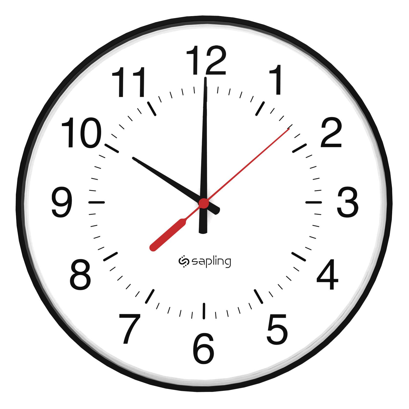 1674x1674 Wireless Analog Clocks Analog Wireless Clock Systems By Sapling