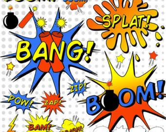 340x270 Batman Clipart Comic Book