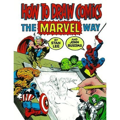 412x412 How To Draw Comics The Marvel Way By Stan Lee