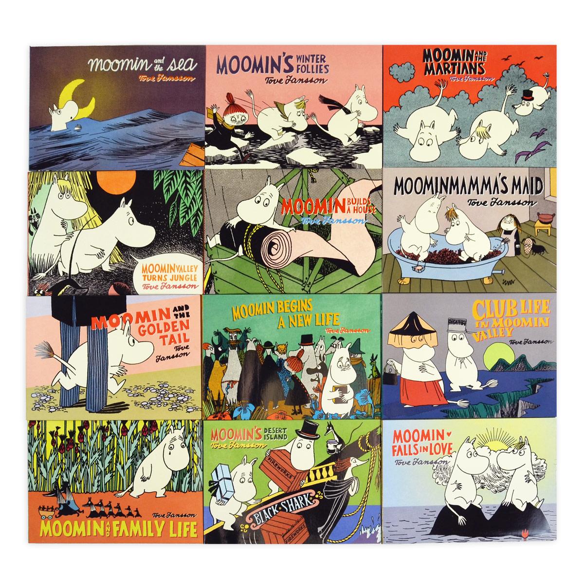 1200x1200 Moomin Comic Strip Story Books (Set Of 12)