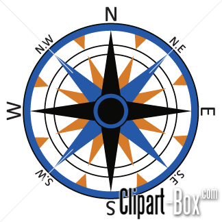 324x324 Compass Clipart Compass Rose