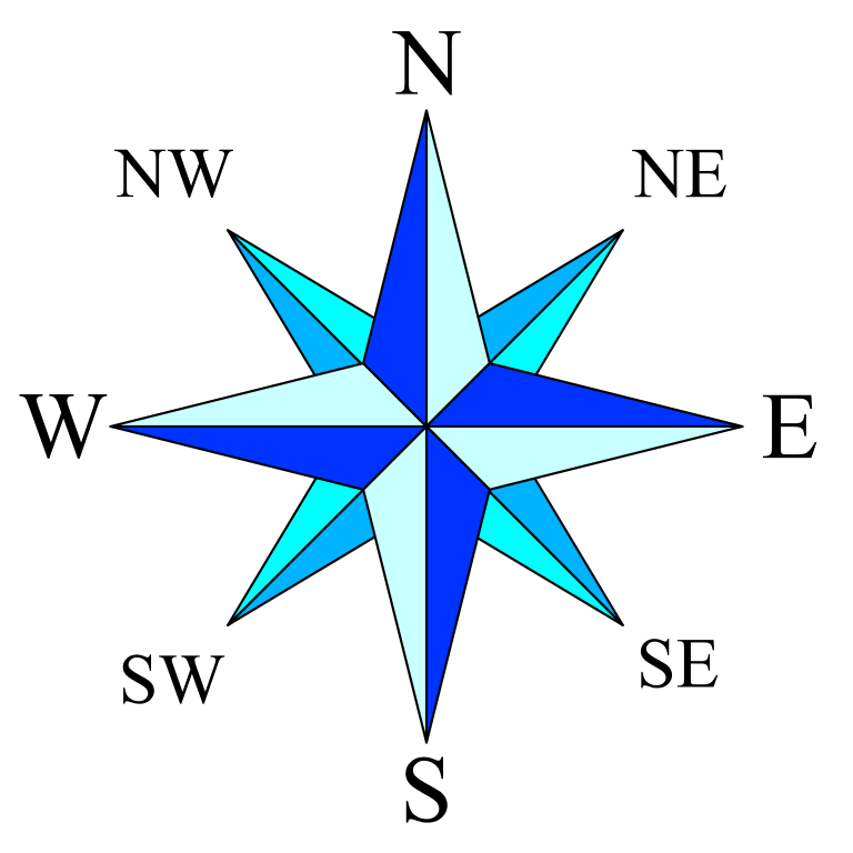 768x768 Filecompass Rose Simple.svg
