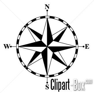 325x324 Clipart Compass Rose