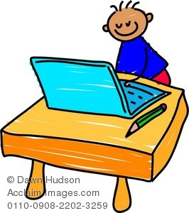 266x300 Kids Learning Computers Clipart Images And Stock Photos Acclaim
