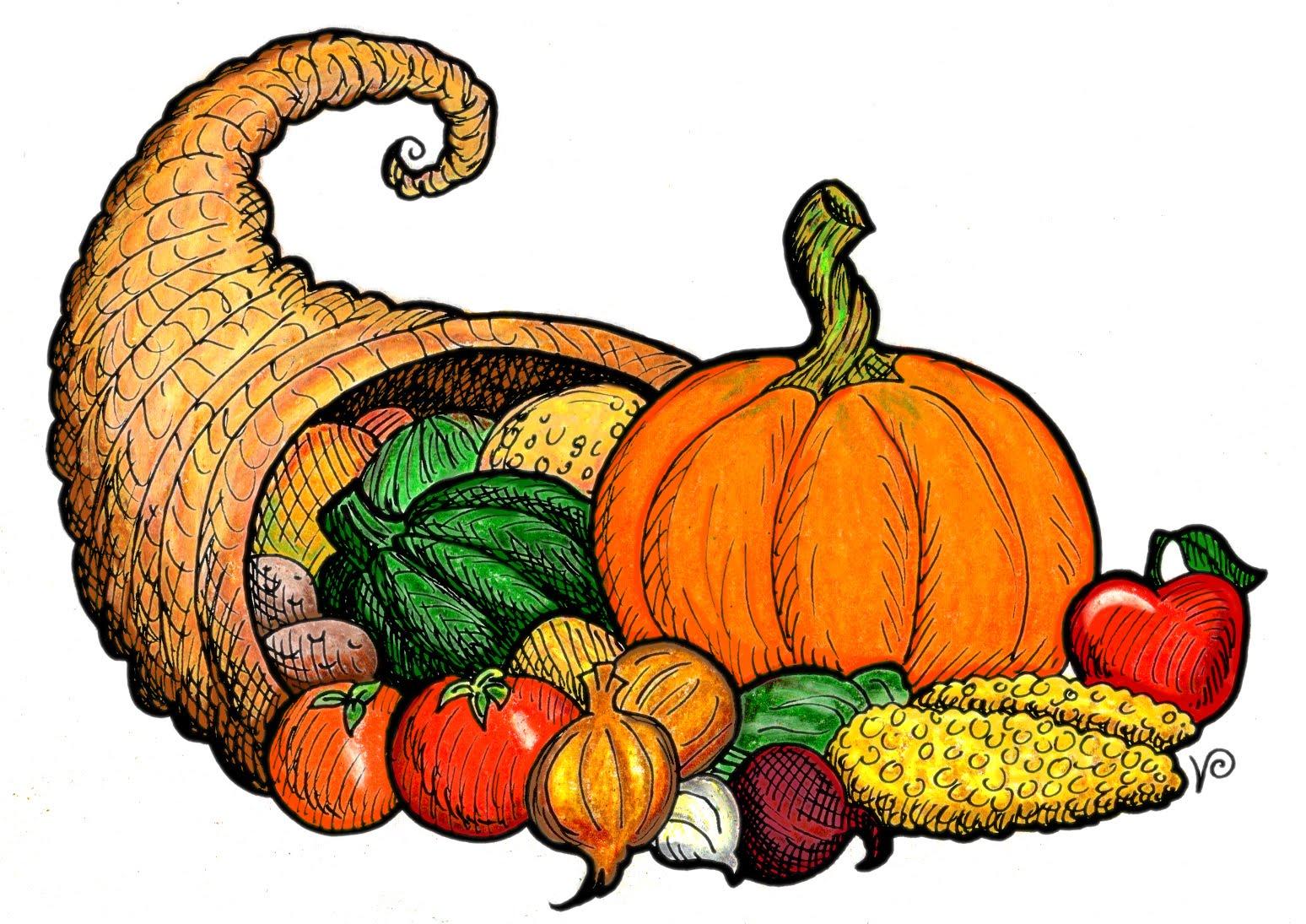 1548x1095 Cornucopia Clipart Harvest