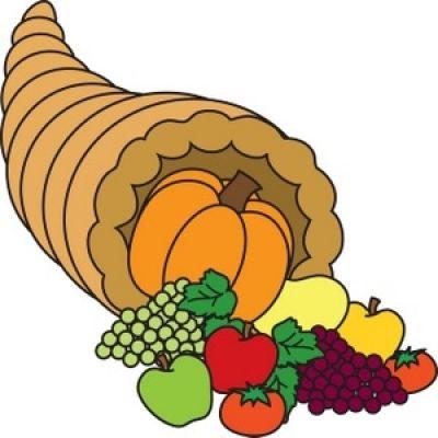 400x400 Cornucopia Clipart Thanksgiving Food