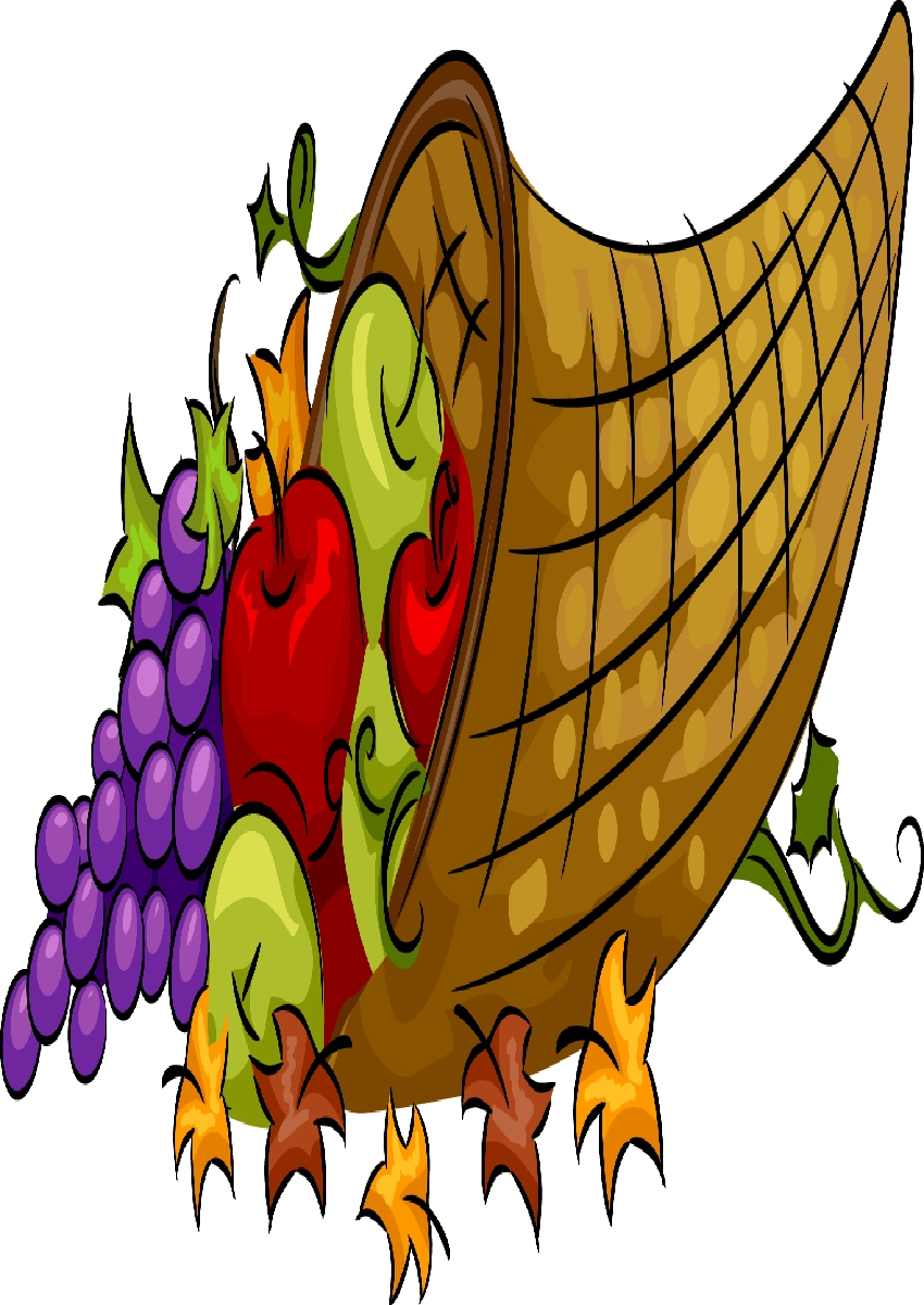 850x1200 Thanksgiving Cornucopia Clipart 9 Images Collections Hd