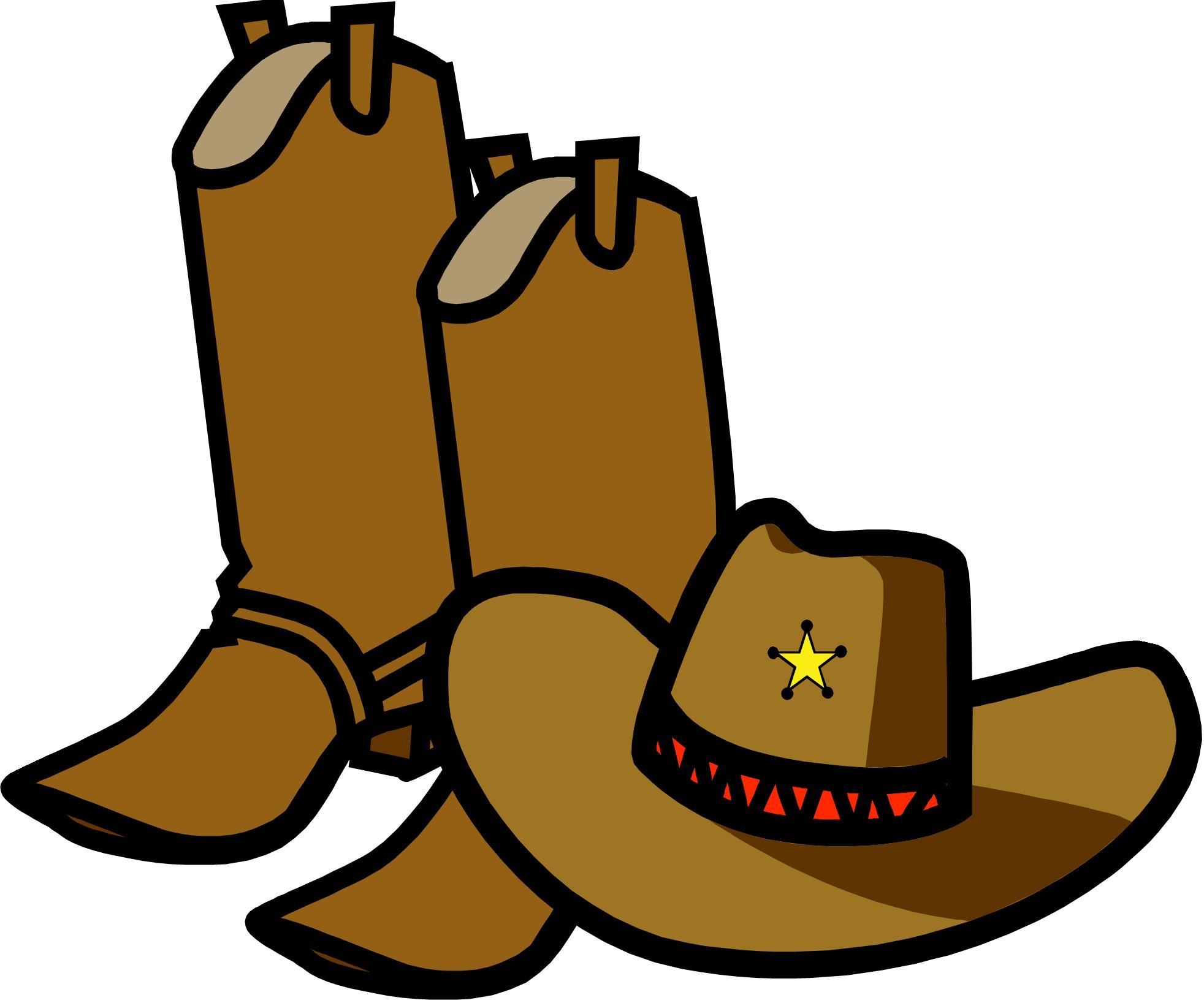 1964x1637 Cowboy Boots Clipart Black And Whitewboy Clip Art Image 2