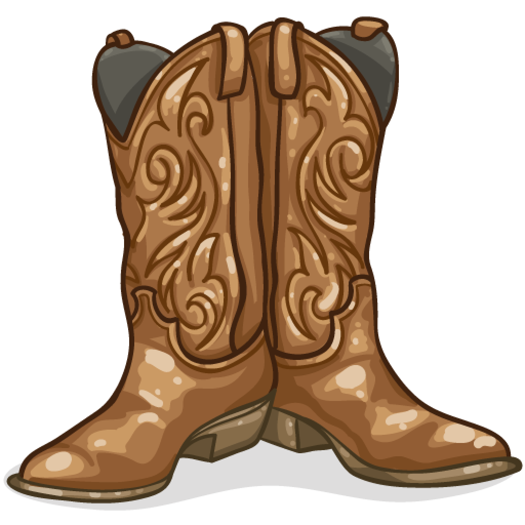 1024x1024 Boots Clipart Brown Boot