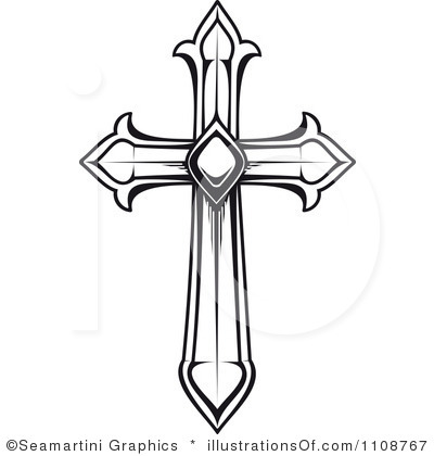 400x420 Crosses Clipart