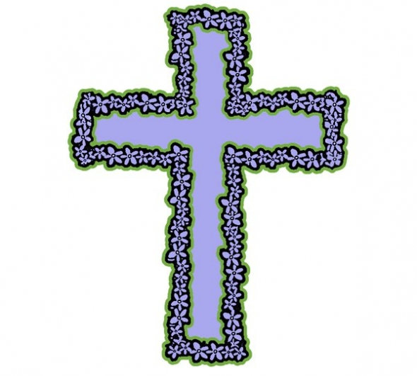 590x531 Free Crosses Clipart