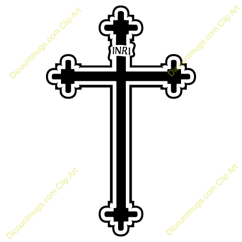 500x500 Catholic Crosses Clipart