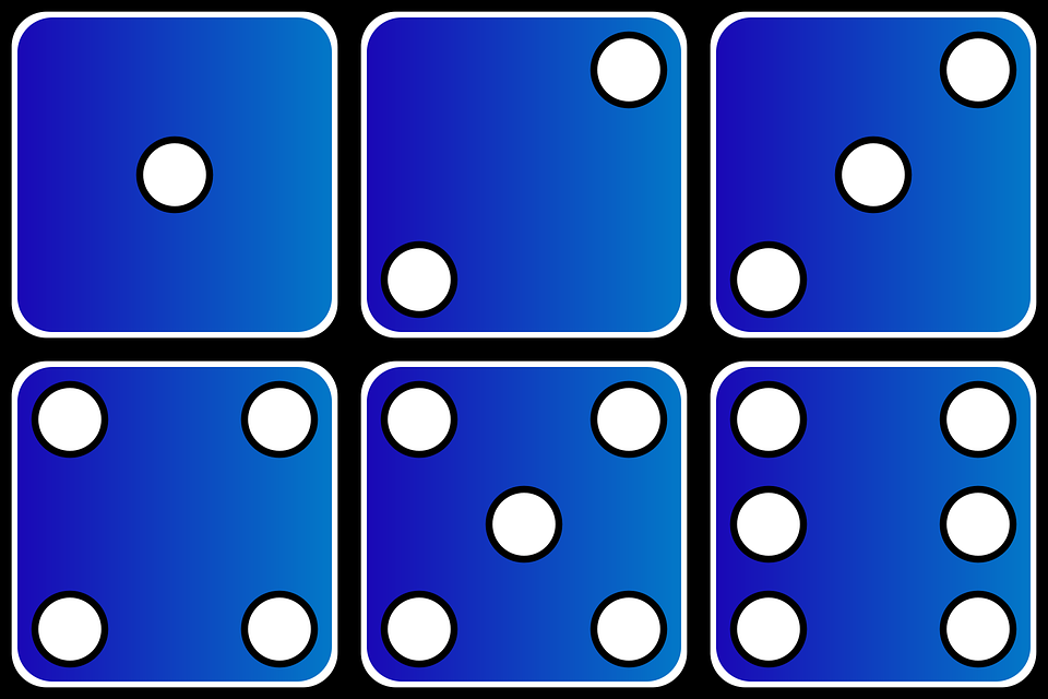 960x640 Dice Clipart Domino