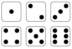 286x193 Squares Clipart Dice