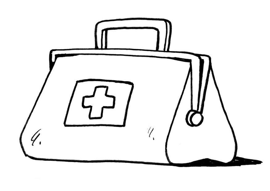 875x620 Doctor Tools Coloring Pages Doctor Coloring Page Color Book Ideas